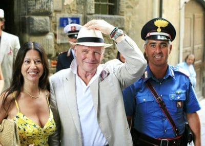Anthony Hopkins & his Wife