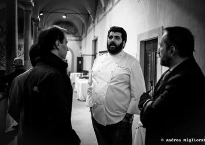 Chef Cannavacciuolo a San Agostino - Cortona