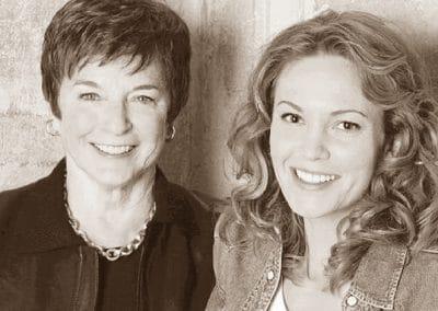 Frances Mayes with Diane Lane