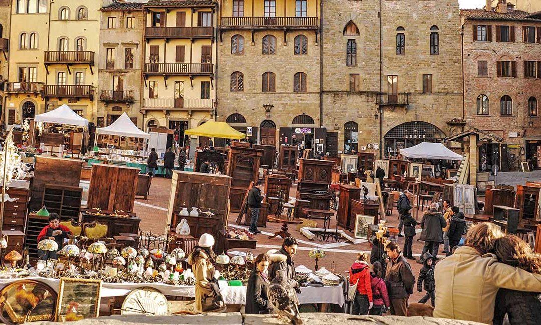 La fiera antiquaria ad Arezzo
