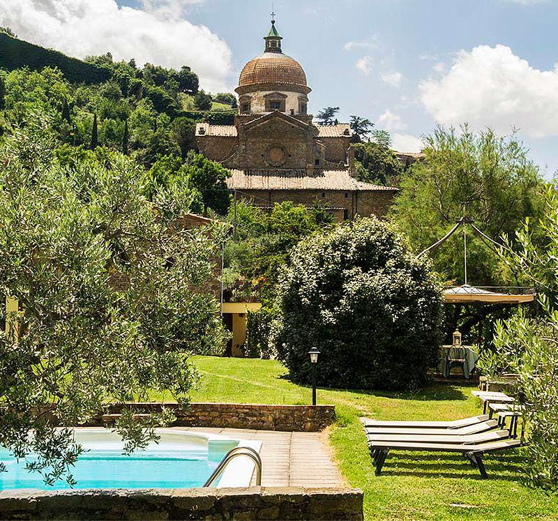 Best villas apartments Cortona
